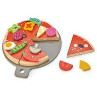 Tender Leaf Wooden Pizza Party